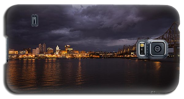 Peoria Stormy Cityscape Galaxy S5 Case by Andrea Silies
