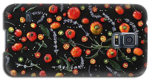 Pepper Pattern Galaxy S5 Case