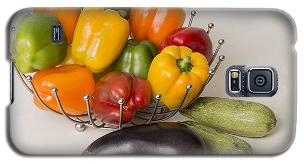 Pepper To Squash Galaxy S5 Case by Laura Pratt