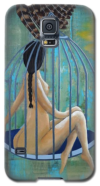 Perceptions Of The Lady In The Birdcage Galaxy S5 Case