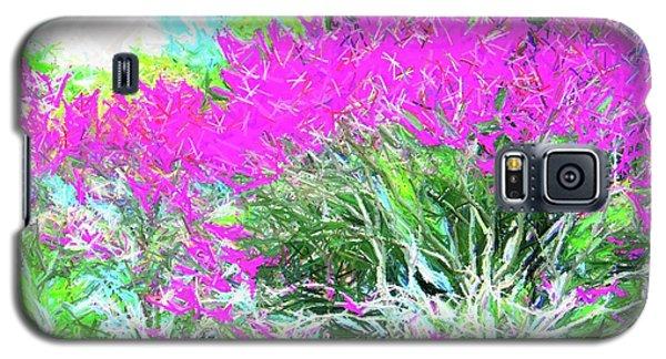 Galaxy S5 Case featuring the photograph Perennial Garden by Susan Carella