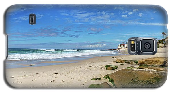 Galaxy S5 Case featuring the photograph Perfect Day At Horseshoe Beach by Peter Tellone
