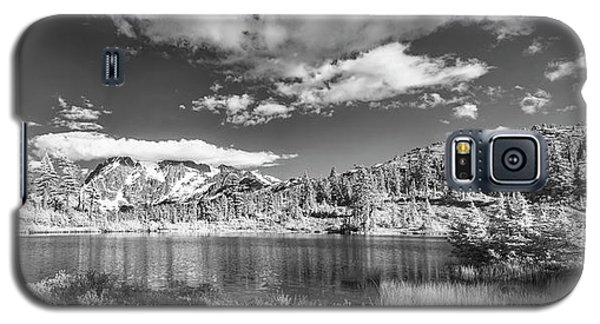 Galaxy S5 Case featuring the photograph Perfect Lake At Mount Baker by Jon Glaser