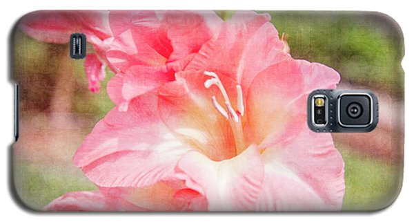 Perfect Pink Canna Lily Galaxy S5 Case by Toni Hopper