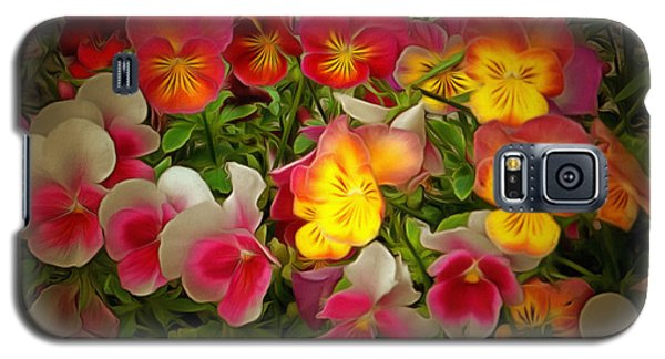 Radiance Pansies Galaxy S5 Case