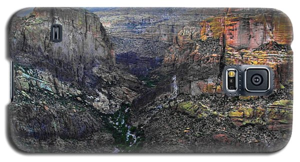 Perilous U.s. Route 88 Galaxy S5 Case by Natalie Ortiz