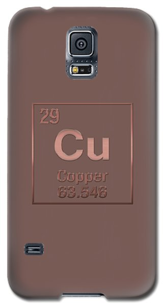 Periodic Table Of Elements - Copper - Cu - Copper On Copper Galaxy S5 Case