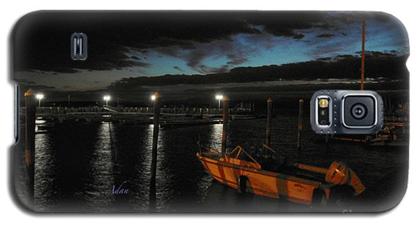 Perkins Pier Sunset Galaxy S5 Case