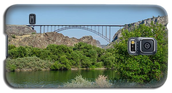 Perrine Bridge At Twin Falls Galaxy S5 Case