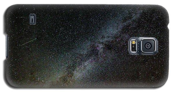 Perseid Meteor Galaxy S5 Case