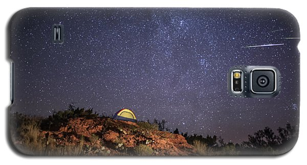 Perseids Over Caprock Canyons Galaxy S5 Case