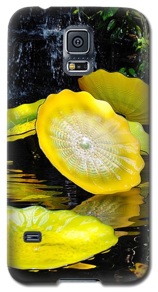 Persian Lily Pads Galaxy S5 Case by Kyle Hanson