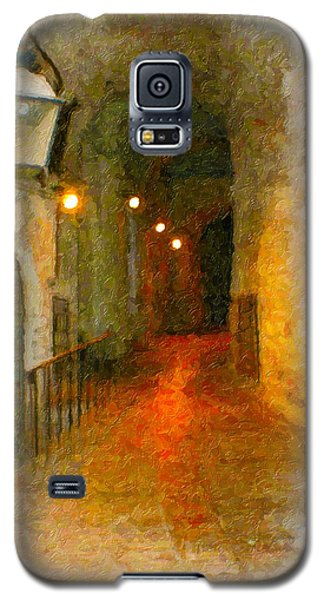 Perugia Grotto 1 Galaxy S5 Case by Rob Tullis