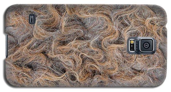Galaxy S5 Case featuring the photograph Peruvian Burro Curls by Britt Runyon