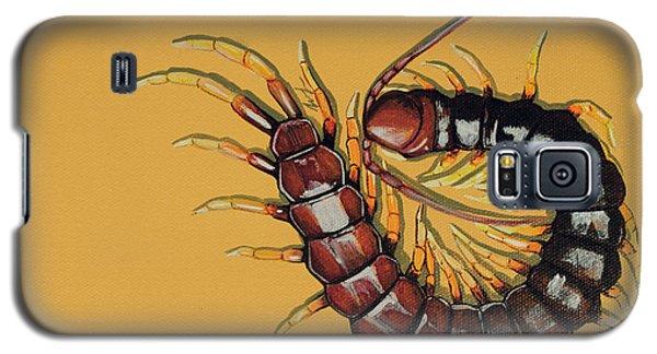 Galaxy S5 Case featuring the painting Peruvian Centipede by Jude Labuszewski