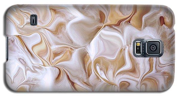Petals Beige Galaxy S5 Case