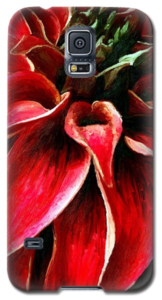 Galaxy S5 Case featuring the painting Petals by James Shepherd