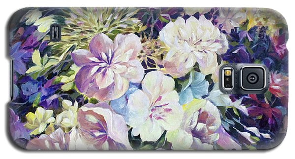 Galaxy S5 Case featuring the painting Petals by Joanne Smoley
