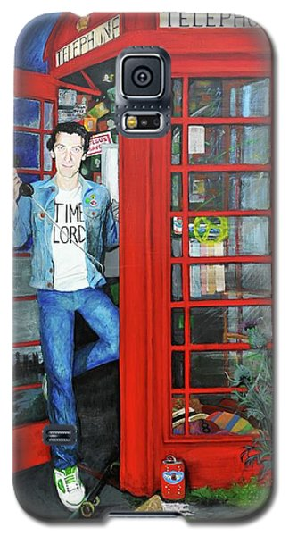 Peter Capaldi Dr Who Putting You Through Galaxy S5 Case
