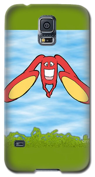 Galaxy S5 Case featuring the drawing Petontas by Uncle J's Monsters