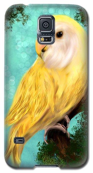 Petrie The Lovebird Galaxy S5 Case
