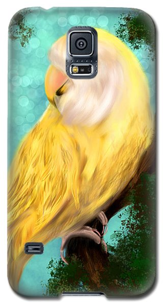 Petrie The Lovebird Galaxy S5 Case