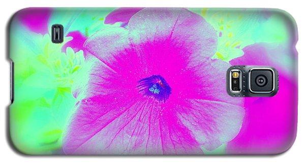Petunia Glow E Galaxy S5 Case