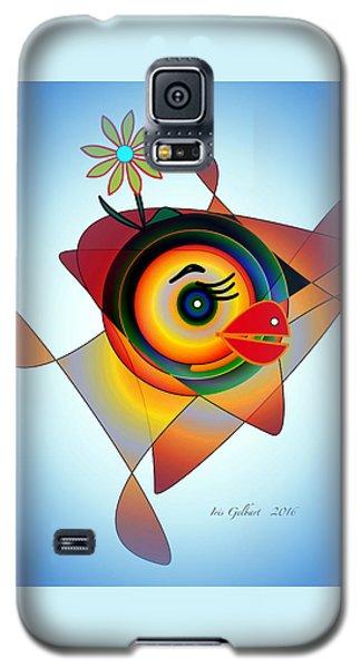 Petunia Parrot 2 Galaxy S5 Case