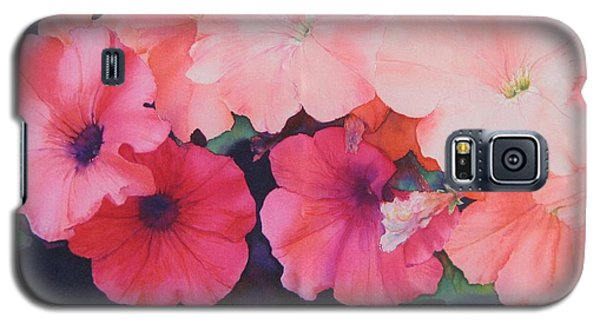 Petunias Galaxy S5 Case
