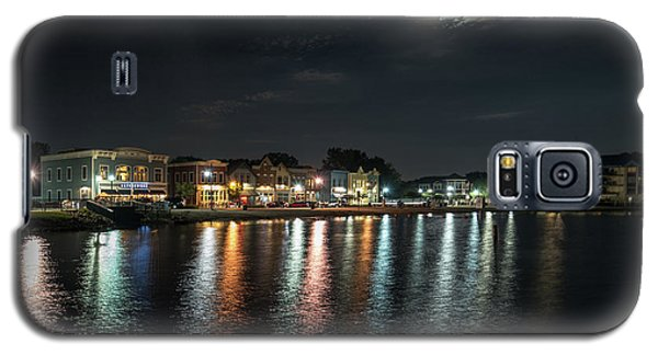 Pewaukee At Night Galaxy S5 Case