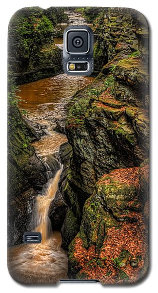 Pewits Nest Three Waterfalls Galaxy S5 Case