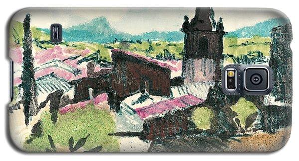 Peyruis Village In Provence Galaxy S5 Case by Martin Stankewitz