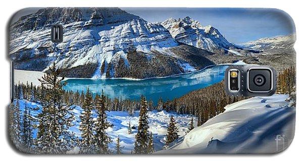 Peyto Lake Winter Panorama Galaxy S5 Case