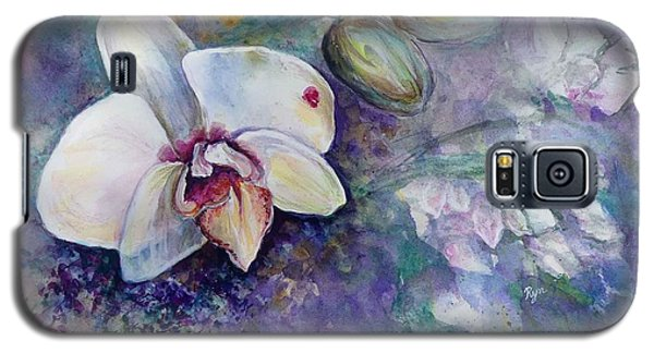Phalaenopsis Orchid With Hyacinth Background Galaxy S5 Case