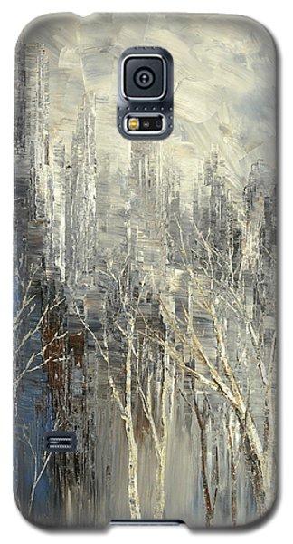 Galaxy S5 Case featuring the painting Phantom Glory by Tatiana Iliina
