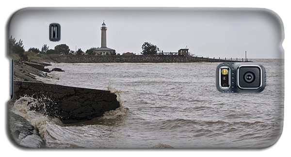 Galaxy S5 Case featuring the photograph phare de Richard by Marc Philippe Joly