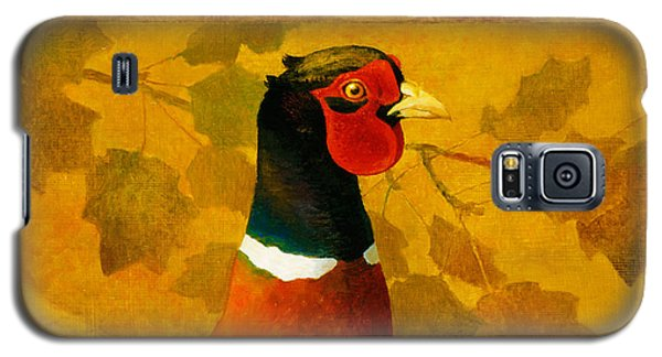 Pheasant In Yellow Galaxy S5 Case