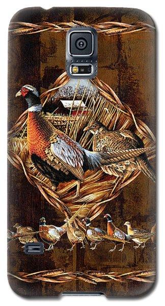 Pheasant Galaxy S5 Case - Pheasant Lodge by JQ Licensing