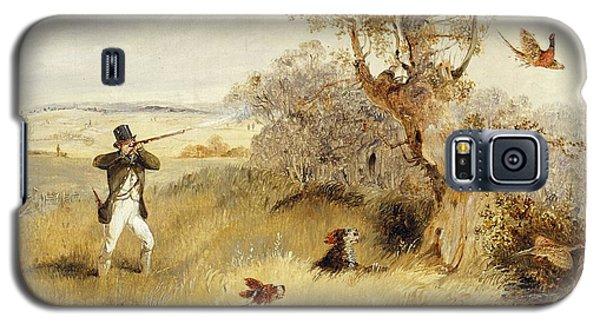 Prairie Dog Galaxy S5 Case - Pheasant Shooting by Henry Thomas Alken