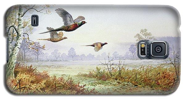 Pheasants In Flight  Galaxy S5 Case