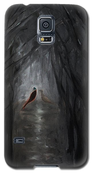 Pheasants In The Garden Galaxy S5 Case by Tone Aanderaa