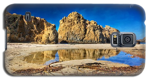 Galaxy S5 Case featuring the photograph Pheiffer Beach - Keyhole Rock #16 - Big Sur, Ca by Jennifer Rondinelli Reilly - Fine Art Photography