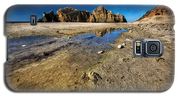 Galaxy S5 Case featuring the photograph Pheiffer Beach -keyhole Rock #18 - Big Sur, Ca by Jennifer Rondinelli Reilly - Fine Art Photography