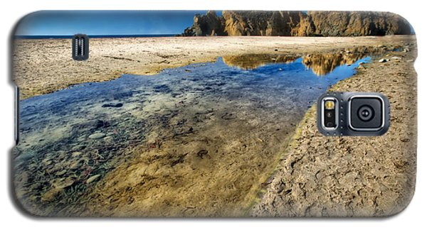 Galaxy S5 Case featuring the photograph Pheiffer Beach- Keyhole Rock #19 - Big Sur, Ca by Jennifer Rondinelli Reilly - Fine Art Photography