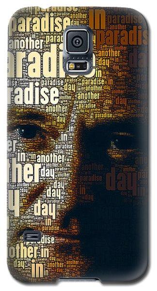 Phil Collins Word Portrait  Galaxy S5 Case