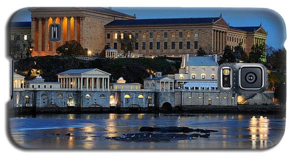 Philadelphia Art Museum And Fairmount Water Works Galaxy S5 Case