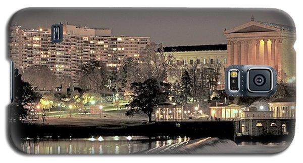 Philadelphia Art Museum In Pastel Galaxy S5 Case