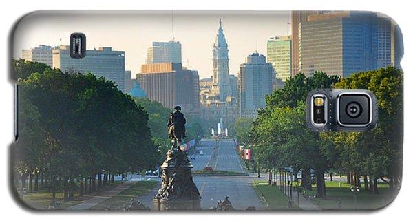 Philadelphia Benjamin Franklin Parkway Galaxy S5 Case