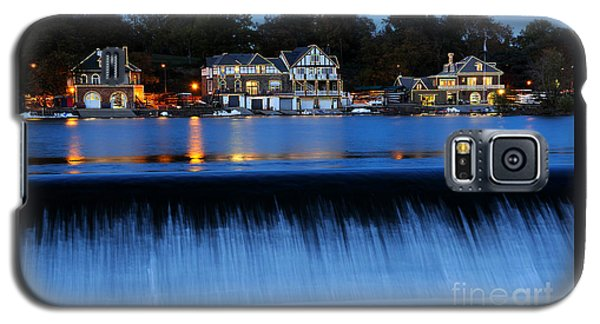 Philadelphia Boathouse Row At Twilight Galaxy S5 Case