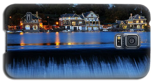 Philadelphia Boathouse Row At Twilight Galaxy S5 Case